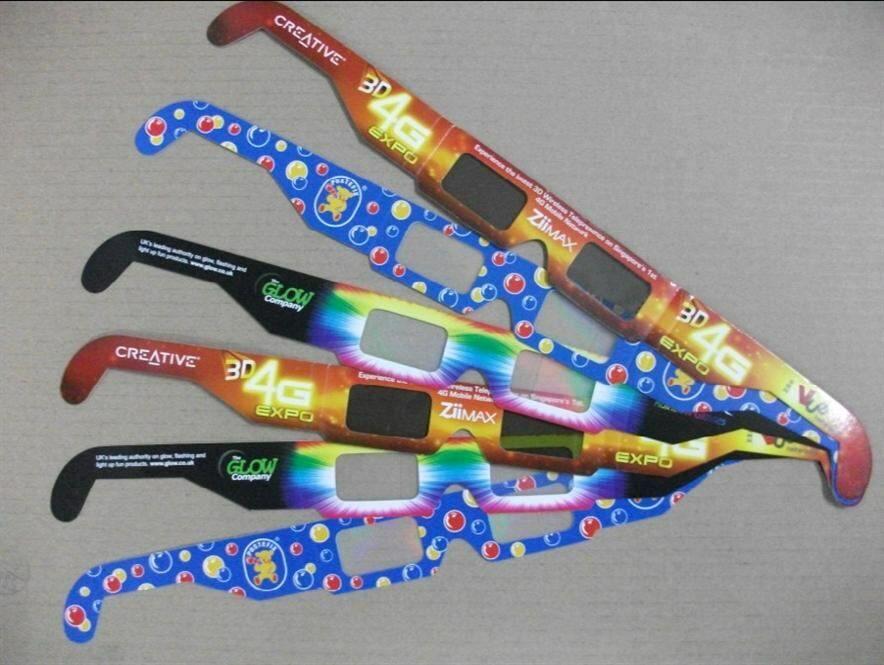 Поляризационные 3d очки для